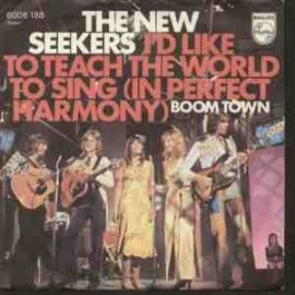 I'd Like to Teach the World to Sing - Cook and Greenaway - Cover