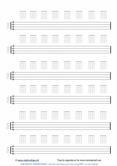 Ukulele ukulele tabs river flows in you : blank ukulele tablature sheets Tags : blank ukulele tablature ...