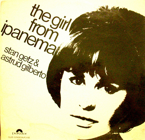 Resultado de imagen para The Girl from Ipanema - Stan Getz & Astrud Gilberto lyrics