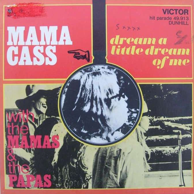 Ukulele chords - Dream a Little Dream of Me by Mama Cass Elliot