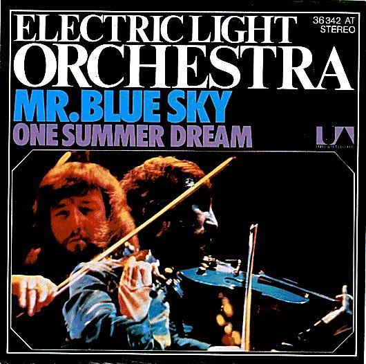 Ukulele chords - Mr  Blue Sky by Electric Light Orchestra
