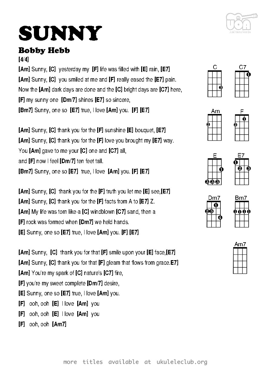 All guitar chords pdf