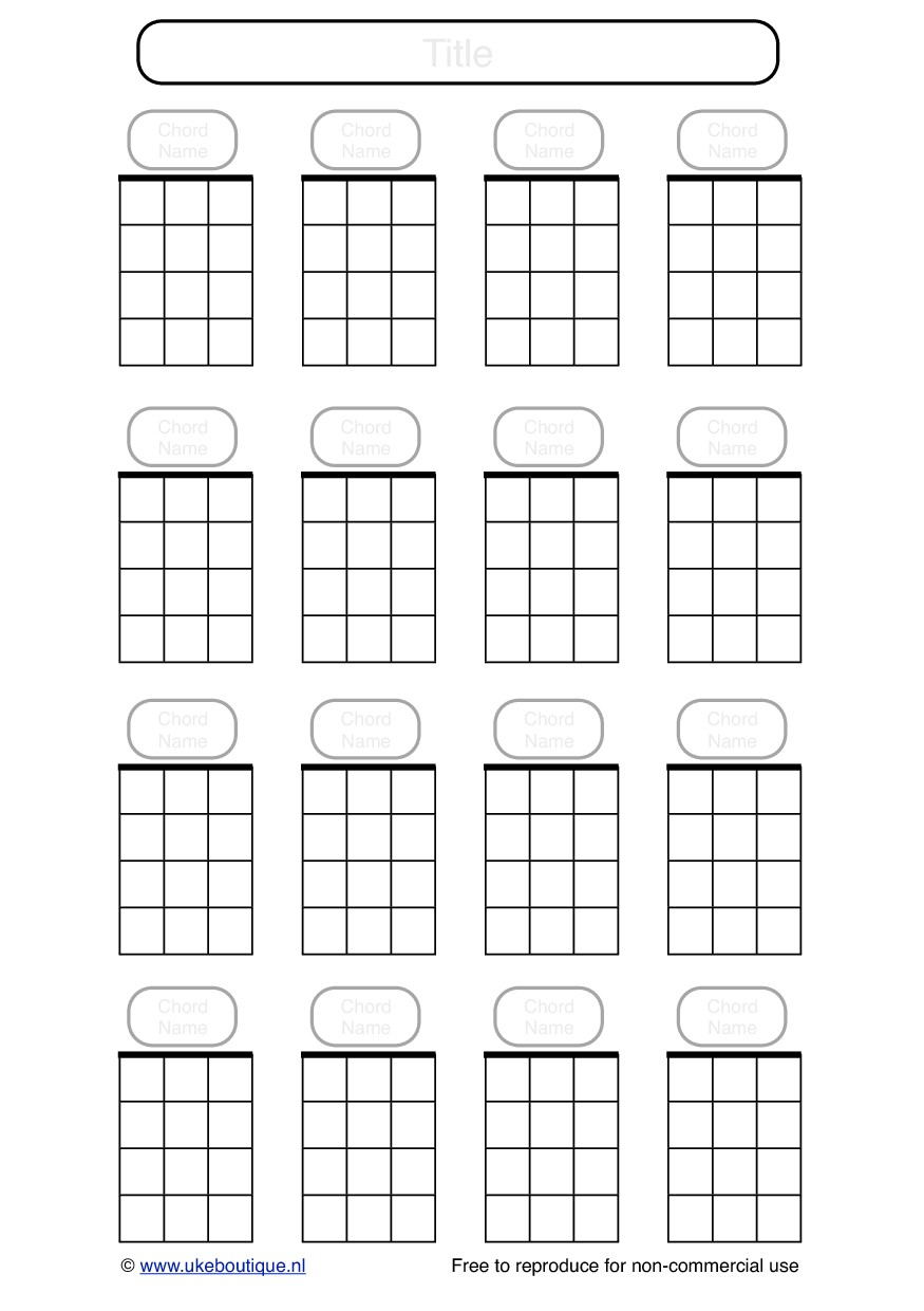 It's just a graphic of Remarkable Printable Ukulele Chords