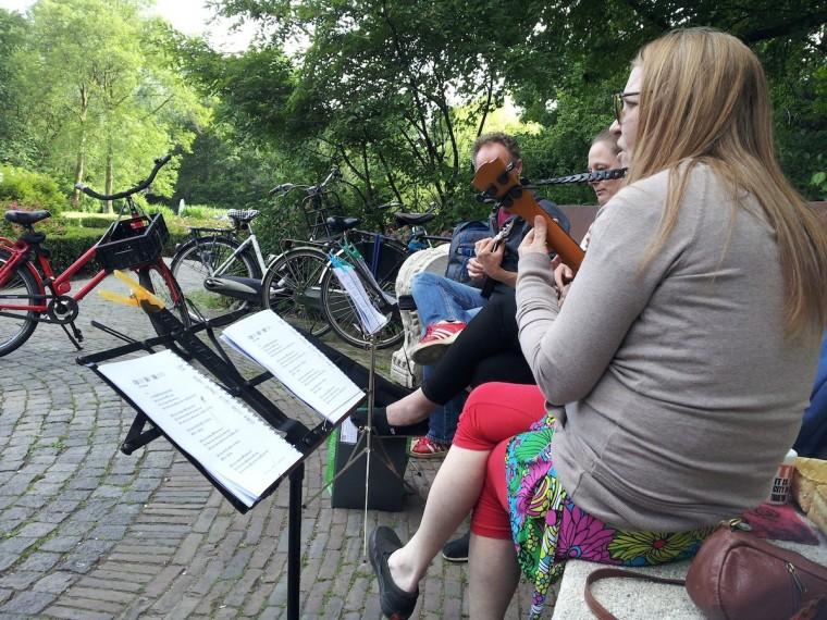 UkeStock in Vondelpark